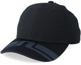 Edmund Tech Mesh Black/Charcoal Adjustable - J.Lindeberg