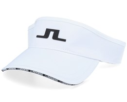 Yaden Tech Stretch White Visor - J.Lindeberg
