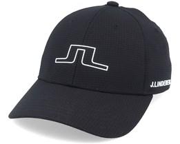 Caden Cap Black Adjustable - J.Lindeberg
