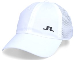 Carl Golf Cap White Adjustable - J.Lindeberg