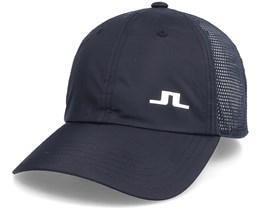 Carl Golf Cap Black Adjustable - J.Lindeberg