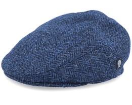 Edward Sr. Harris Tweed Blue Flat Cap - CTH Ericson