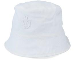 Kids Jamie Jr. Pique White Bucket - CTH Ericson