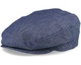 Carl Sr. Denim Blue Flat Cap - CTH Ericson