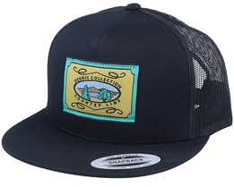 Country Line Cap Black Trucker - CTH Ericson