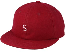 Baseball S Rhubarb Red Strapback - Sweet