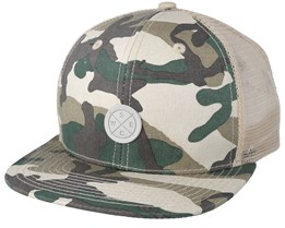 Camo Light Woodland Trucker - Wesc
