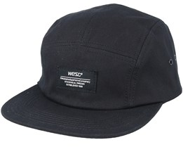 Solid Black 5-Panel - Wesc