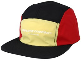 Blocked Yellow/Red/Black 5-Panel - WeSC