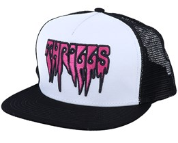 Thrills Hat White/Black Trucker - Wesc