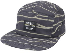 Abstract Waves Camper Hat 5-Panel - Wesc
