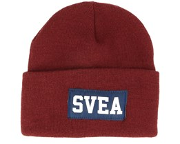 My Hat Five Wine Red Cuff - Svea