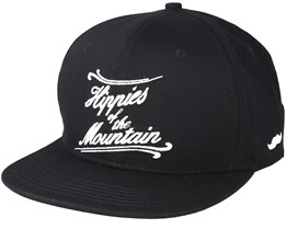 Mountain One Black Snapback - Appertiff