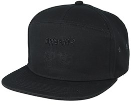 Hamra All Black Snapback - Appertiff