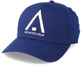 Bow Cap Midnight Blue Flexfit - Wear Colour