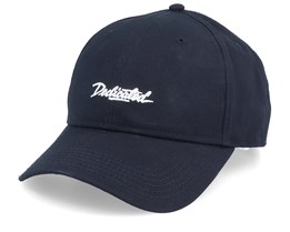 Script Sport Cap Black Adjustable - Dedicated