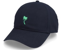 Organic Sport Palm Black Dad Cap - Dedicated