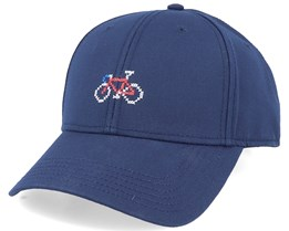 Sport Cap Stitch Bike Navy Adjustable - Dedicated