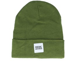 Beanie Kiruna Leaf Green Cuff - Dedicated