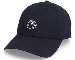 Sport Cap Globe Black Adjustable - Dedicated