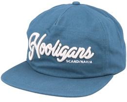 The Scandinavian Unstructured Worker Blue Snapback - Northern Hooligans