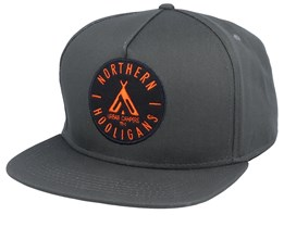 Tent Woods Green Snapback - Northern Hooligans