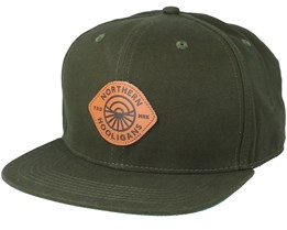 Artic Circle Forest Green Snapback - Northern Hooligans