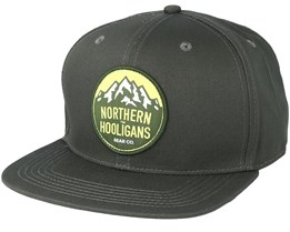Summit Patch Dark Green Snapback - Northern Hooligans