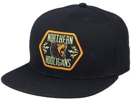 Bears Black Snapback - Northern Hooligans