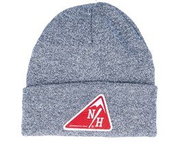 The Built Beanie Heather Grey Cuff - Northern Hooligans