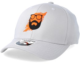 Scratch Grey Flexfit - Bearded Man