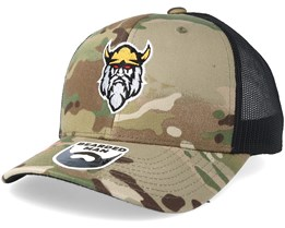 Northbeard Camo Trucker - Bearded Man