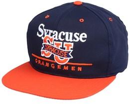 Syracuse Orangemen Classic College Vintage Navy/OrangeSnapback - Twins Enterprise