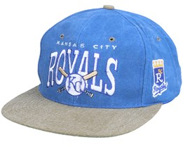 Kansas City Royals Arch Mlb Vintage Blue/Olive Snapback - Twins Enterprise