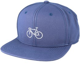 Picto Bike Navy Snapback - Dedicated