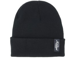 Tgn Patch Black Beanie - Sqrtn
