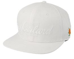Great Norrland All White Snapback - Sqrtn