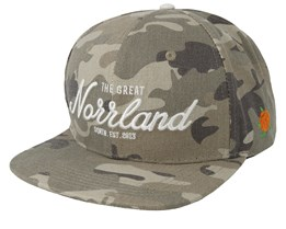 Great Norrland Dusty Camo Snapback - Sqrtn