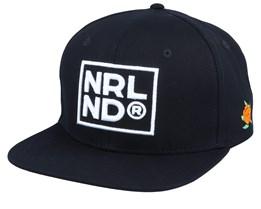 NRLND Black/White Snapback - SQRTN
