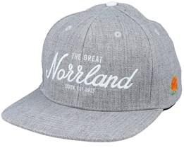 Great Norrland 120 Heather Grey Snapback - SQRTN