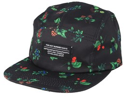 Berry Black 5-Panel - Sqrtn