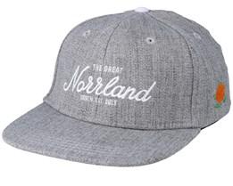 Kids Great Norrland Grey Snapback - Sqrtn