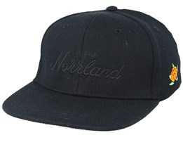 Kids Great Norrland All Black Snapback - Sqrtn