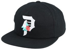 Dos Flores Black Unstuctured Snapback - Primitive Apparel