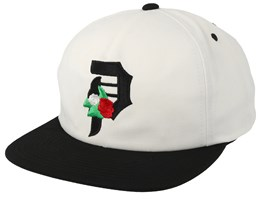Dos Flores White Unstuctured Snapback - Primitive Apparel
