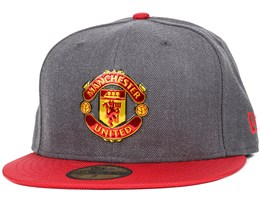 Manchester United Ballistic Graphite/Scarlet 59Fifty - New Era