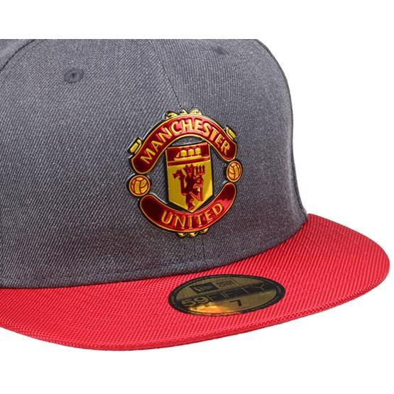 Manchester United Ballistic Graphite Scarlet 59Fifty - New Era caps -  Hatstoreworld.com b932229d473