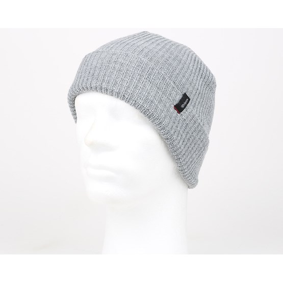 2bc142d04c4 Heist Light Heather Grey Beanie - Brixton beanies