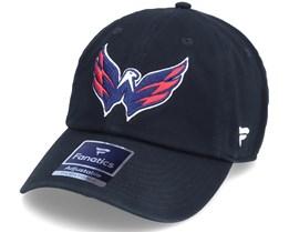 Washington Capitals Primary Logo Core Black Dad Cap - Fanatics
