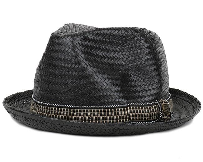f567386ff5a50 Castor Fedora Black Gold - Brixton hats